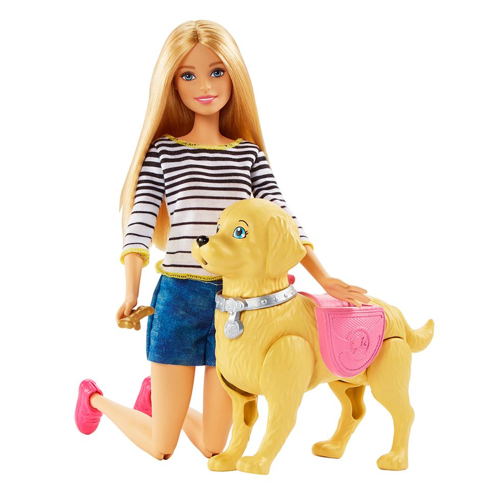 Barbie Paseo De Perrito
