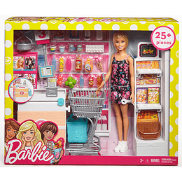 Set Supermercado De Barbie