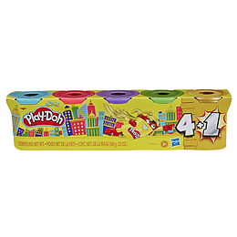 Play Doh Pack Promocional 4+1 Oro