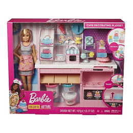 Barbie Chef de Pasteles