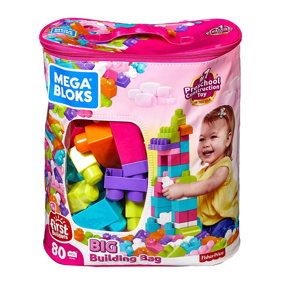 Mega Block Bolsa Rosada