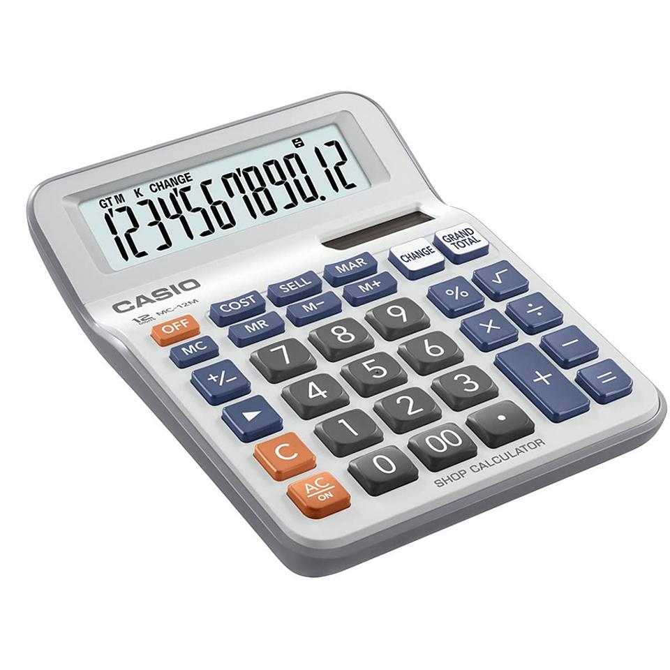 Calculadora Casio tipo mini escritorio