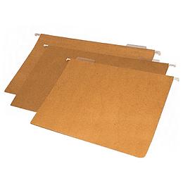 Folder colgante café
