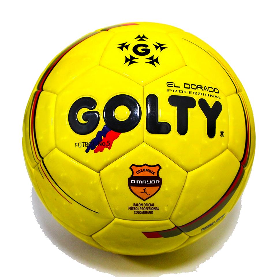 Balón Fútbol # 5 Profesional Dorado Termotech