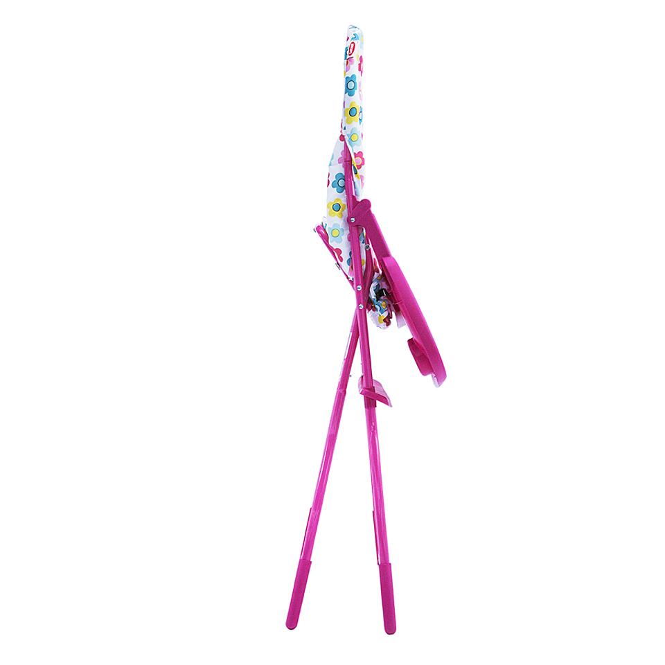 Silla comedor arti pink flowers