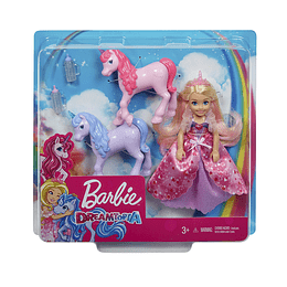 Barbie Chelsea Y Unicornios