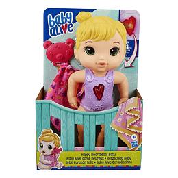 Baby Alive Bebe Corazón Feliz