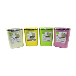 Papelera plástica mini colores 2 litros