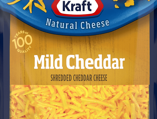 Kraft Mild Cheddar Cheese 8 oz EA