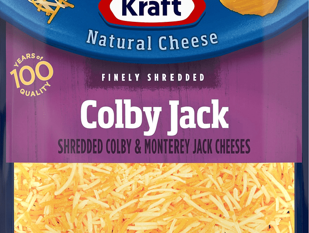 Kraft Colby Jack Cheese 8 oz EA