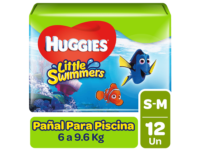 Huggies Little Swimmer Talla P 12 un