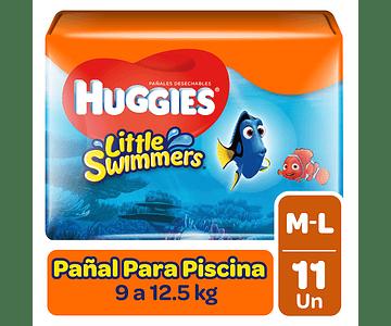 Huggies Little Swimmer Talla M 11 un
