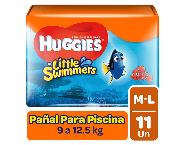 Huggies Little Swimmer Talla M 11 un