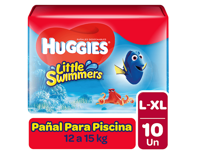 Huggies Little Swimmer Talla G 10 un