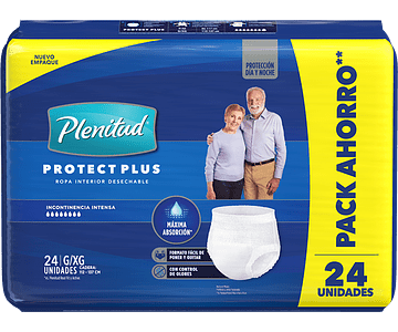 Plenitud Protect Plus G/XG 24un