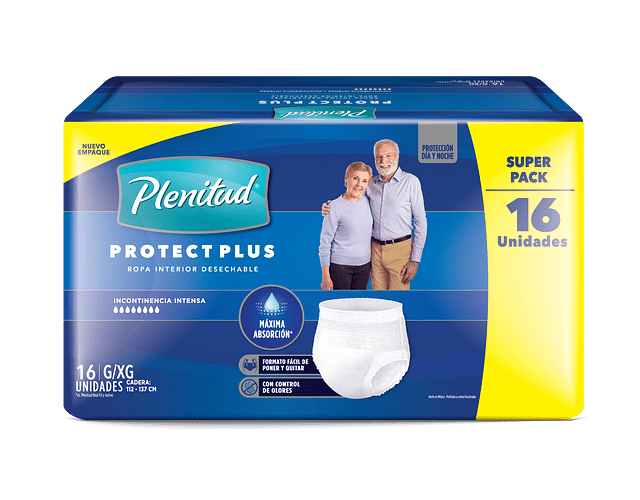 Plenitud Protect Plus G/XG 16un
