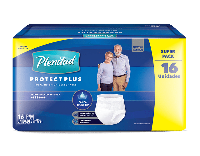 Plenitud Protect Plus P/M 16un