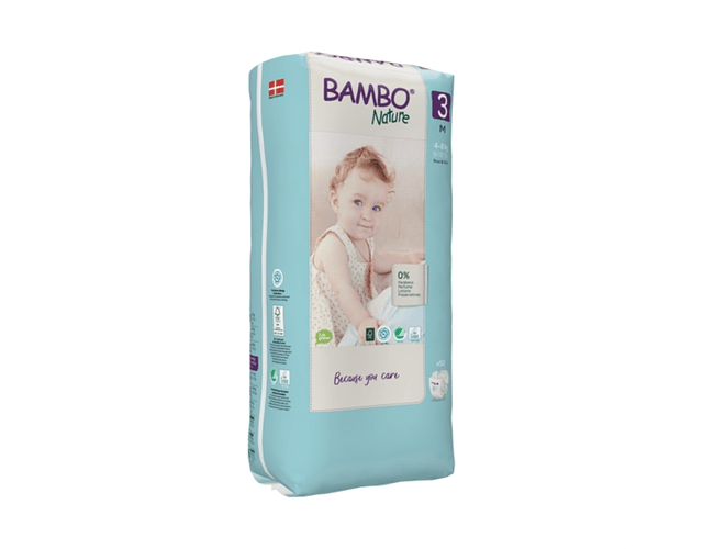Bambo Nature Eco-Friendly   3 ( Paq. Alto)