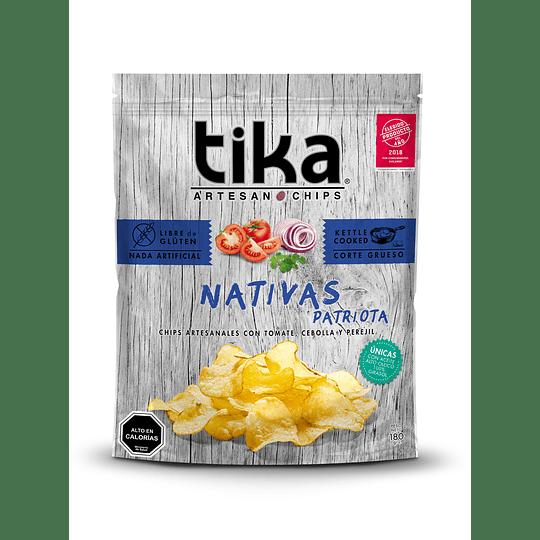 Chips Tika Nativas 180g - Patriota