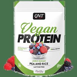 Proteina en Polvo QNT - Frutos Rojos