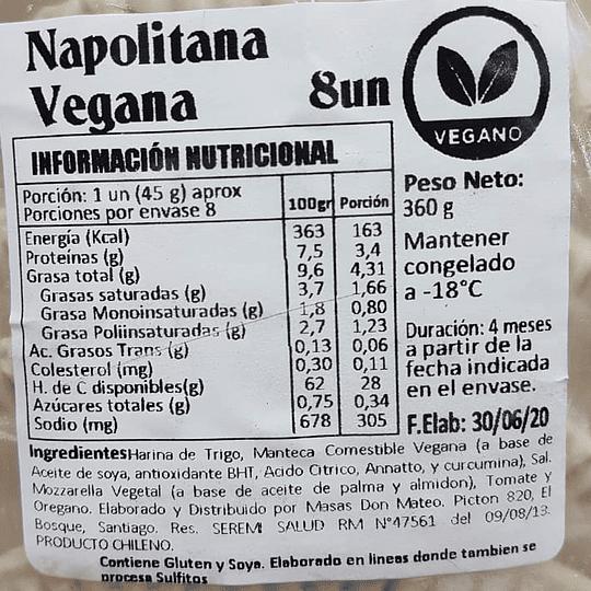 Empanadas crudas Napolitanas, 8un - La Donna