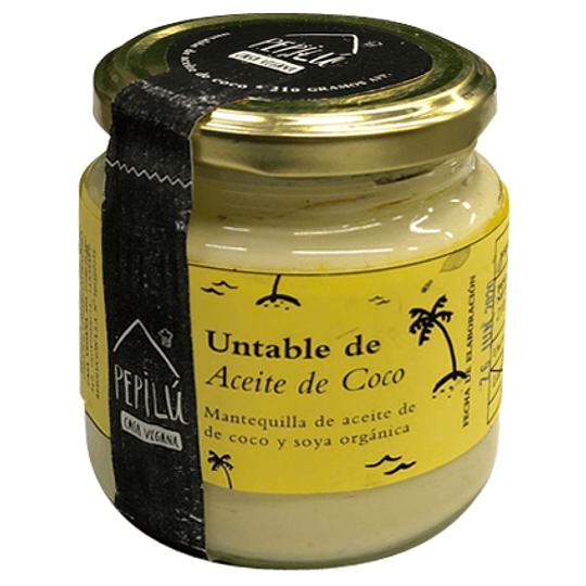 Mantequilla Untable de Aceite de Coco - Pepilú
