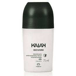 Desodorante roll-on masculino Kaiak Aventura - Natura
