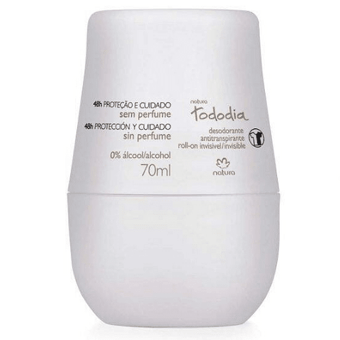 Desodorante antitranspirante roll-on femenino Sin Perfume 70ml - Natura