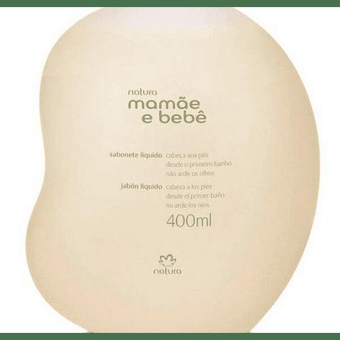 Jabón Líquido Mamá y Bebé 200ml - Natura