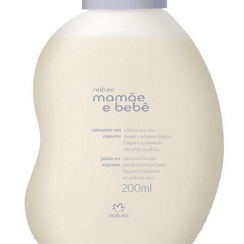 Jabón Espuma Relajante Mamá y Bebé 200ml - Natura