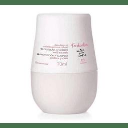 Desodorante antitranspirante roll-on Avellana y Casis 70ml - Natura