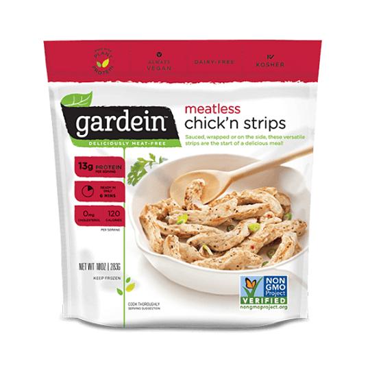 Chickn Strips (sucedáneo de pollo en tiras) - Gardein