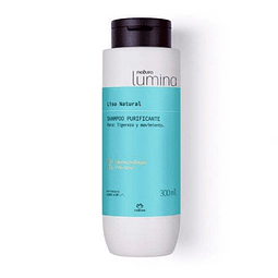 Shampoo Purificante Cabello Liso, Lumina - Natura