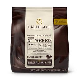 Cobertura Chocolate Callebaut 70.5% 70-30-38 - 400g