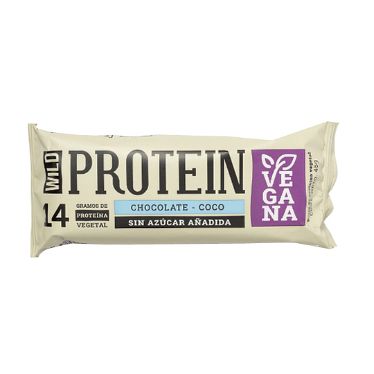 Barra Protéica Chocolate Coco - Wild Protein