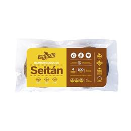 Hamburguesas de Seitan - Vegusta (4un)