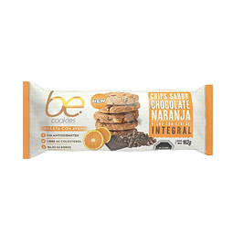 Be Cookies - Chips Sabor Chocolate Naranja