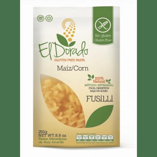 Fusilli Maíz 250g - El Dorado