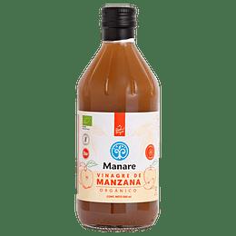 Vinagre de Manzana Orgánico (500ml) - Manare