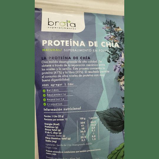 Proteina de Chia Brota - 300g