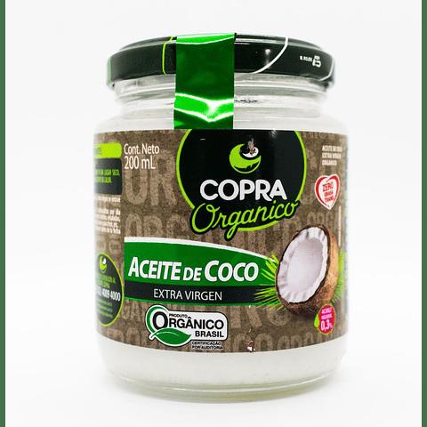 Aceite de Coco Extravirgen y Orgánico 200ml - Copra