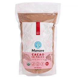 Cacao en Polvo Orgánico 500g - Manare