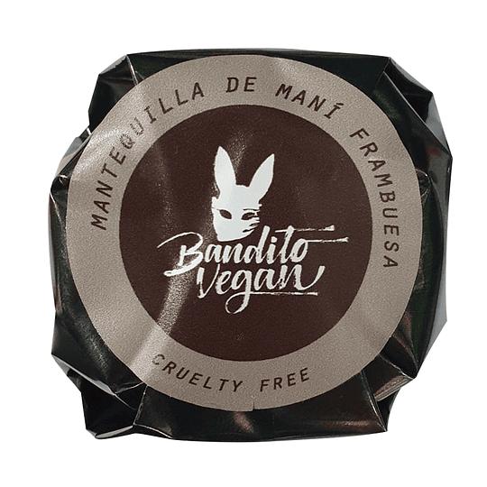 Alfajor Bandito XL - Mantequilla de Maní & Frambuesa