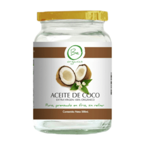 Aceite de Coco EXTRA VIRGEN 500ml - Be Organics
