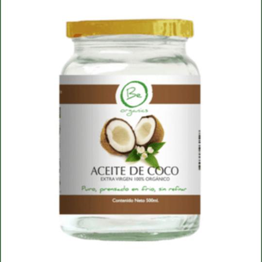 Aceite de Coco EXTRA VIRGEN 500ml - Be Organics