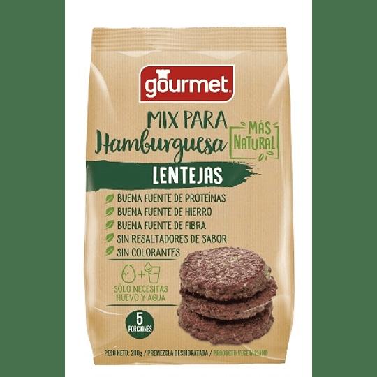 Mix para Hamburguesas de Lentejas - Gourmet