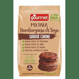 Mix para Hamburguesas de Soya sabor Carne - Gourmet