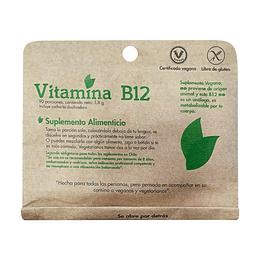 Vitamina B12 en polvo (5,8g) - Dulzura Natural