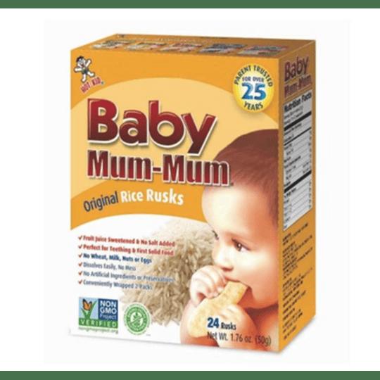 Galletas de Arroz Originales - Baby Mum Mum