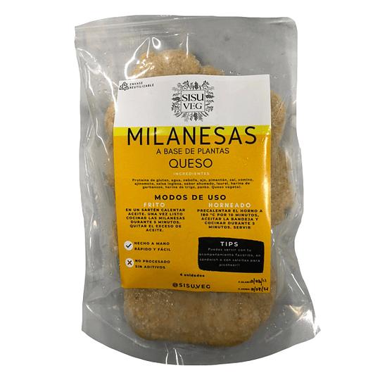 Milanesas con Queso - Sisu Veg